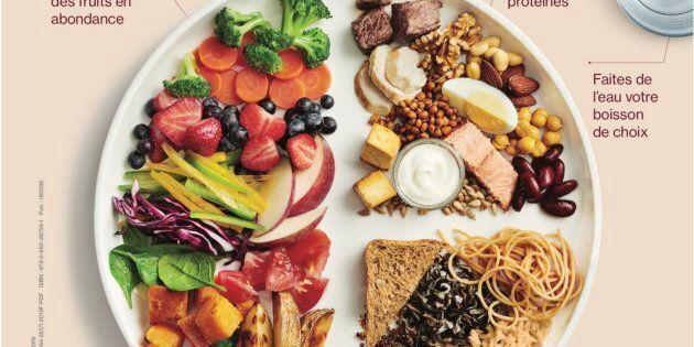 Le nouveau Guide alimentaire canadien.