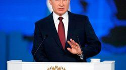 Poutine lance un avertissement aux États-Unis dans son discours sur l'état de la