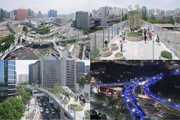 Éric Tourigny, un amateur d'Expo 67, suggère la création d'un vaste réseau de passerelles entre des toits...