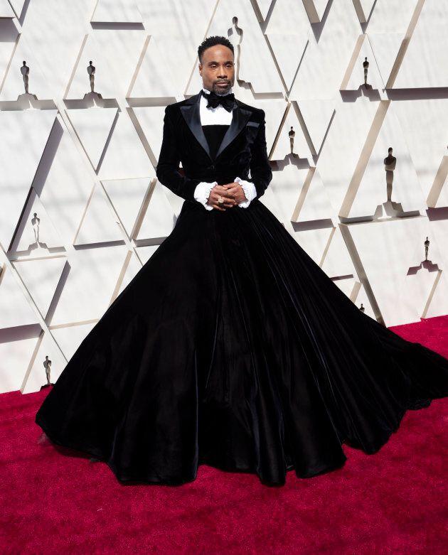Pourquoi l'acteur Billy Porter porte une robe aux