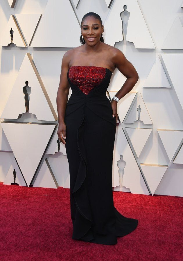 Oscars 2019: Serena Williams foule le tapis rouge sans son