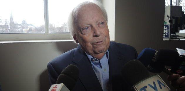 Pierre Marois, ex-ministre dans le gouvernement de René Lévesque et premier député de la circonscription...