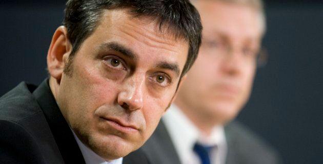Pierre Nantel, député néodémocrate représentant la circonscription de Longueuil-Saint-Hubert, sur la...