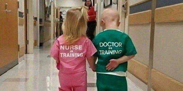 Photo infirmière médecin (TWITTER