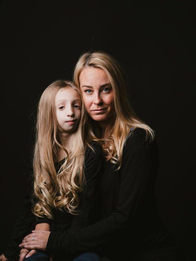 Laurie Gagnon et sa maman Marie-Hélène Bélisle