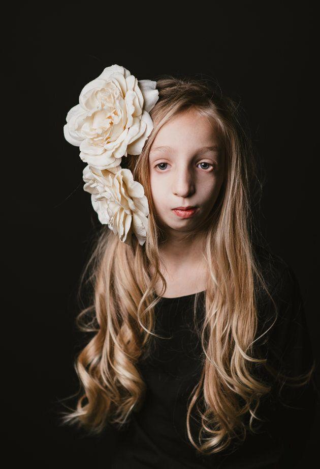Laurie Gagnon a participé au projet photo #etrehumain afin d'aider à amasser des fonds pour la Fondation...