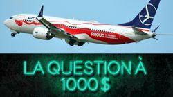 C'est quoi le problème avec le Boeing 737 MAX
