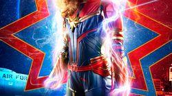 Elle devient «Captain Marvel» grâce aux montages de son