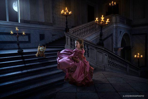 Deux des visuels imaginés par Josh Rossi pour sa fille à l'occasion de la sortie de