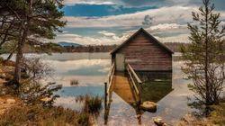 H μυστηριώδης εξαφάνιση μιας λίμνης στα Χάιλαντς της