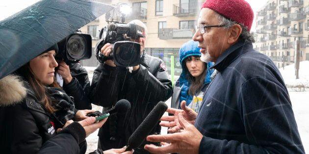 Le président du Centre culturel islamique de Québec, Boufeldja Benabdallah, évoque une douleur