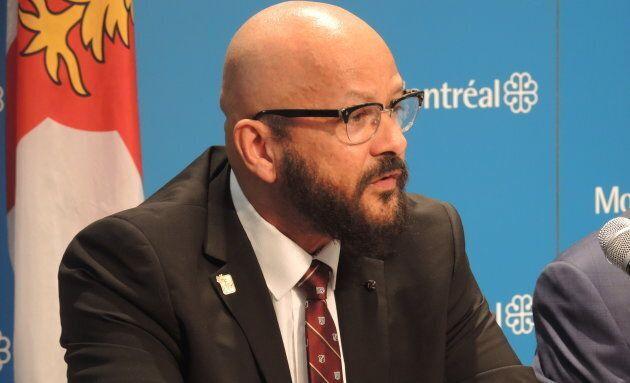 Alain Babineau, ex-policier et conseiller pour le Centre de recherche-action sur les relations raciales