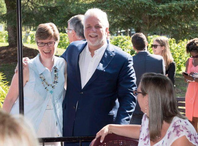 Linda Caron était candidate libérale dans la circonscription de Vachon en