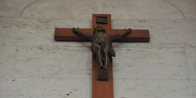 Le crucifix de l'hôtel de ville de