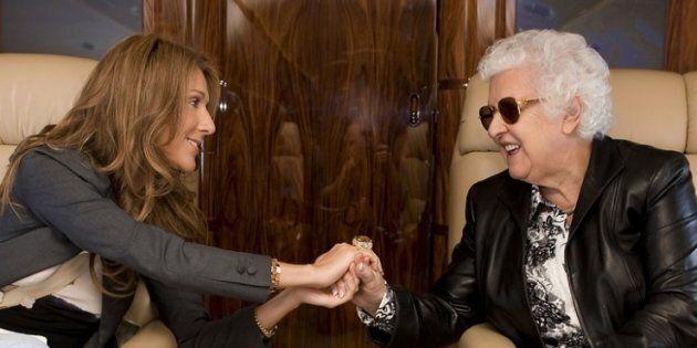 Céline Dion rend hommage à sa mère pour son 92e