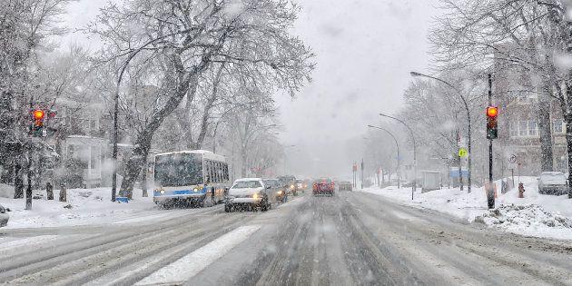 Une tempête de neige s'abattra sur le Québec