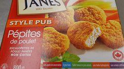 Ces pépites de poulet pourraient être contaminées à la