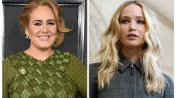 Adele et Jennifer Lawrence finissent un concours de shots à