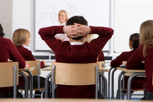 L'étude révèle que 51 % des élèves des écoles publiques de type enrichi - une école dite «internationale»...