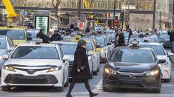 D'autres perturbations des chauffeurs de taxi à prévoir à Montréal et