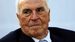 L'ex-chancelier allemand Helmut Kohl est