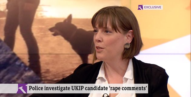 Labour MP Jess Phillips speaking on the Victoria Derbyshire programme on