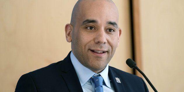 Christopher Skeete a été élu député de Sainte-Rose le 1er octobre dernier. Il est le seul élu de la CAQ...