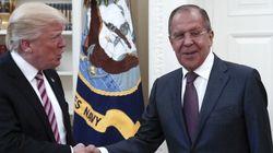 Trump appelle Lavrov à contenir le régime syrien et