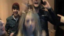 Bieber et ses amis font la fête