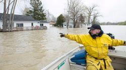 Inondations: «Il y a de l'espoir devant nous», dit Martin