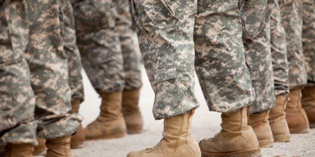 Troops in