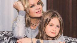 Caroline Néron encourage sa fille à suivre ses