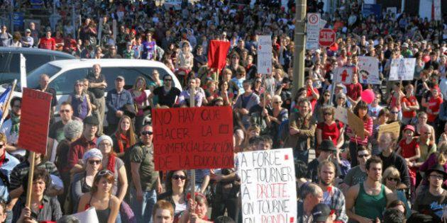 Printemps des étudiants québécois: les positions se durcissent