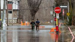 Inondations: l'eau monte toujours dans certains secteurs en inondation