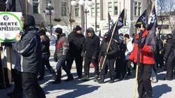 Manifestations à Montréal: les deux camps sous