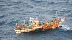 Le «navire fantôme» japonais qui dérive dans le Pacifique sera