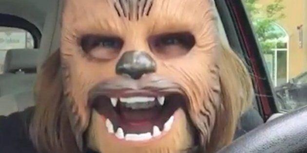 Le masque de Chewbacca est déjà en rupture de