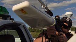 Une arme pour neutraliser les drones sans balles ni violences
