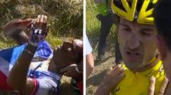 Chute spectaculaire lors du Tour de France