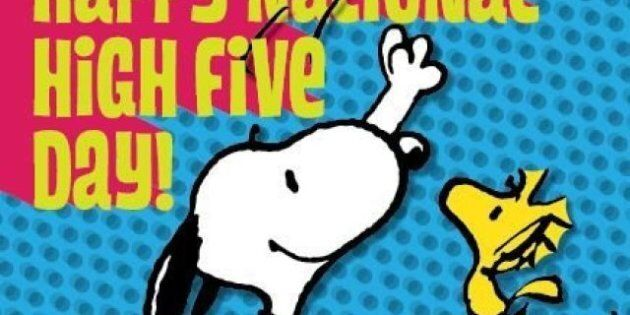 Journée internationale du high five 2011: Tape