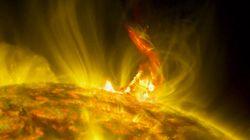 Voyez cette magnifique éruption solaire