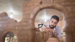 Des Syriens construisent en miniatures des monuments détruits par la