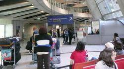 Évacuation à l'aéroport