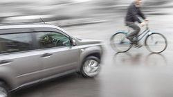 Sécurité des cyclistes: le ministre Laurent Lessard met l'accent sur