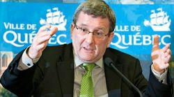 Le maire Labeaume à la