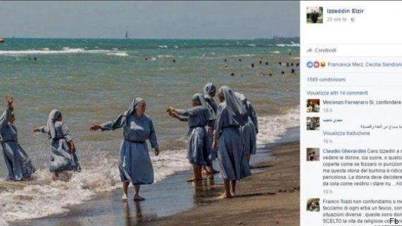 Burkini: l'imam italien Izzedin Elzir alimente le débat avec une