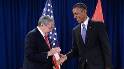 Obama rencontre Raúl