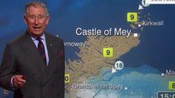 Vidéo: Le prince Charles fait la pluie et le beau temps sur la