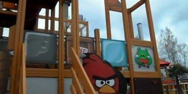 Angry Birds a son parc d'attractions en Finlande