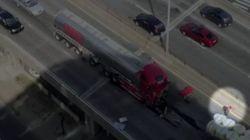 Un homme a tenté de sauver en vain le chauffeur du camion-citerne